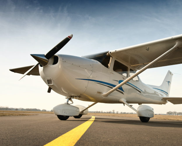 Aspiring Private Pilots may fly a Cessna 172, such as this one.