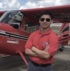 Flight Apprentice instructor James Jacobson